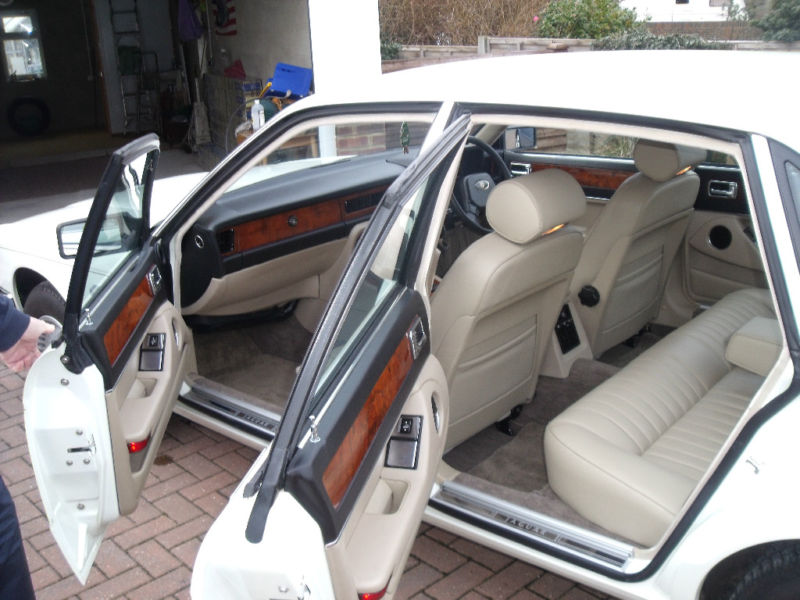1987 jaguar xj6 white interior 1