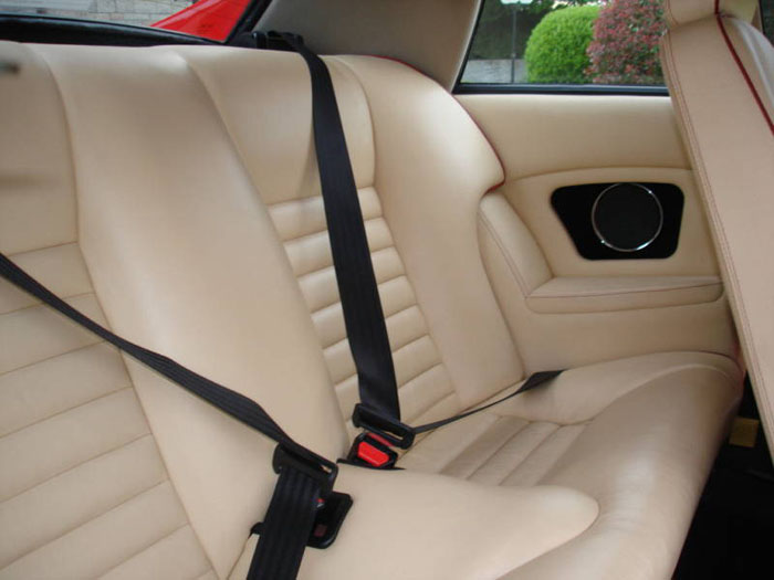 1989 jaguar jaguarsport xjr-s auto red interior 2