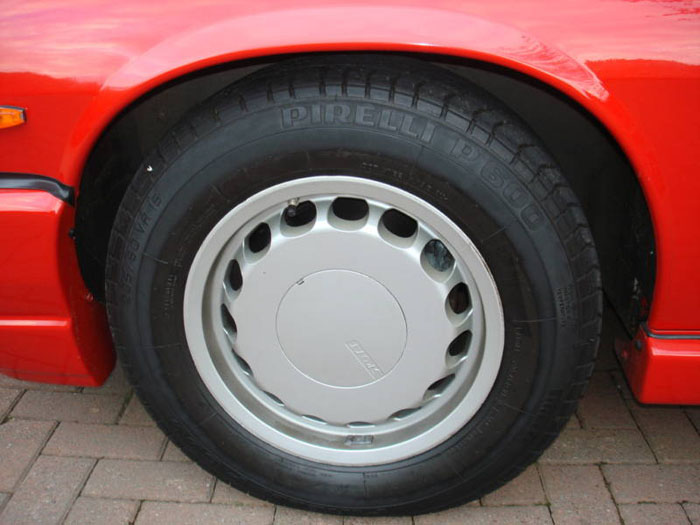 1989 jaguar jaguarsport xjr-s auto red wheel