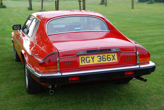 1981 jaguar xj-s he 5.3 v12 back