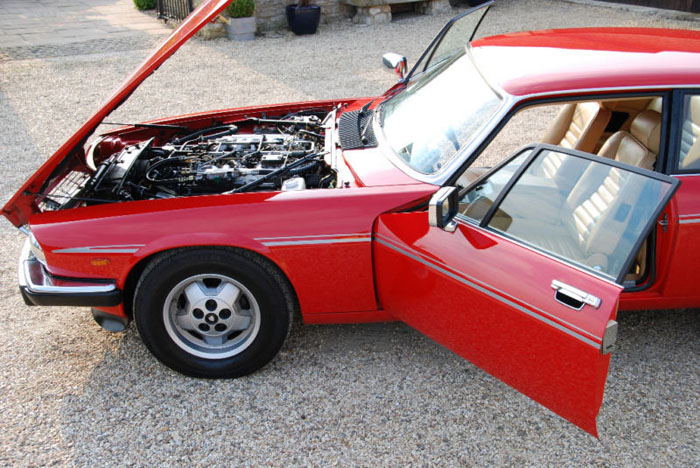1981 jaguar xj-s he 5.3 v12 engine bay 1