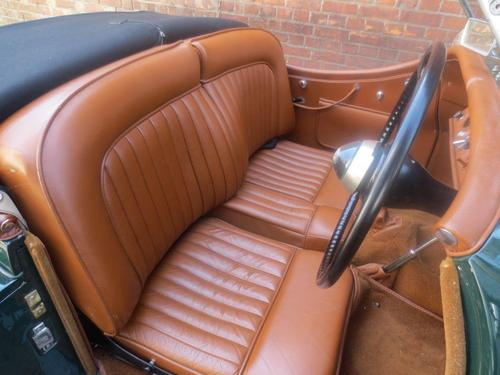 1954 Jaguar XK-120 Roadster Interior 1