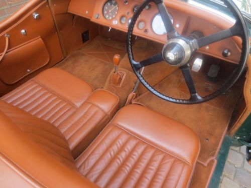 1954 Jaguar XK-120 Roadster Interior 2