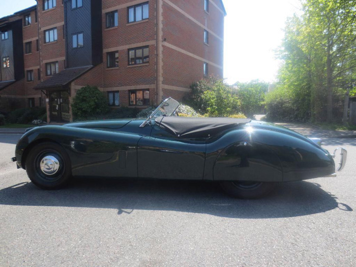 1954 Jaguar XK-120 Roadster Left Side
