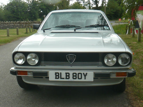 1982 lancia beta coupe front