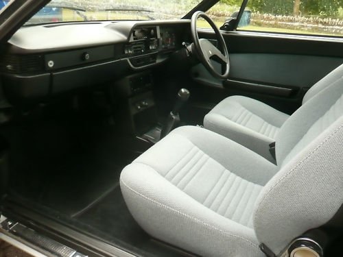 1982 lancia beta coupe interior 1