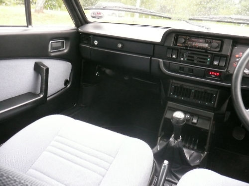 1982 lancia beta coupe interior 2