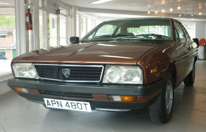 1978 lancia gamma coupe front