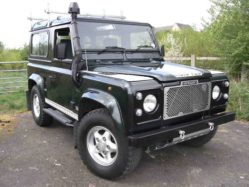 1998 land rover 90 defender tdi 1