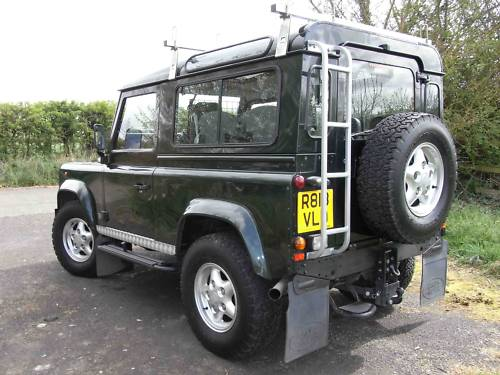 1998 land rover 90 defender tdi 4