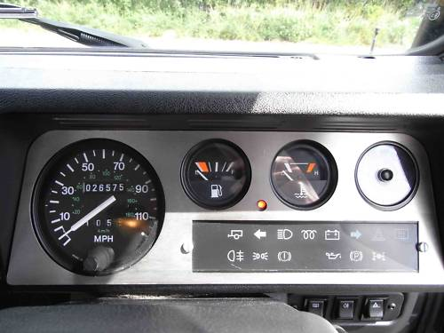 1998 land rover 90 defender tdi dashboard