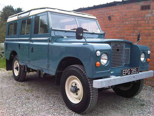 land rover series 2a 109 station wagon 2.6 1