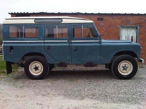 land rover series 2a 109 station wagon 2.6 4