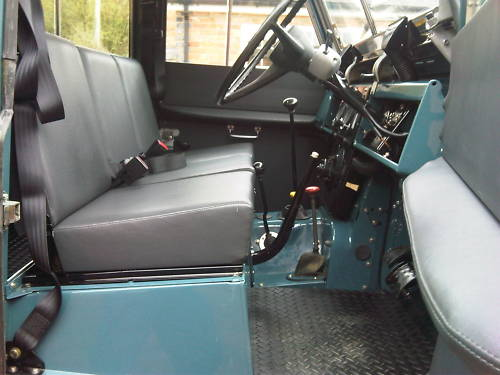 land rover series 2a 109 station wagon 2.6 interior 1