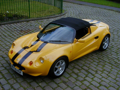 yellow lotus elise cars - photo #19