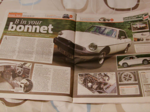 1979 MGB GT Magazine Article