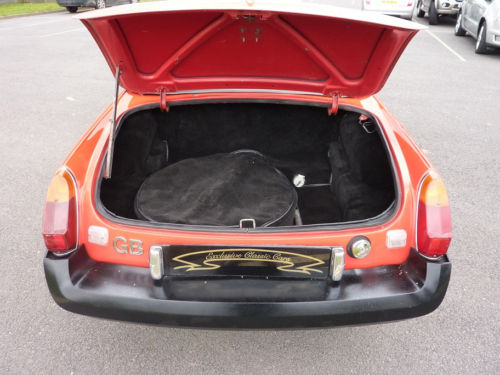 1798cc mgb roadster boot