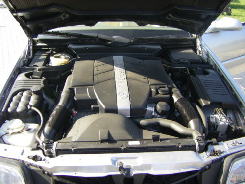1999 mercedes benz sl320 v6 auto engine bay