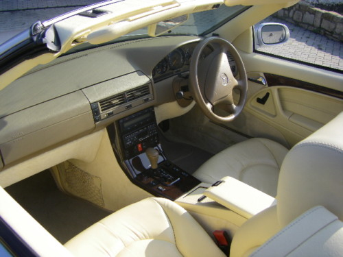 1999 mercedes benz sl320 v6 auto interior 1