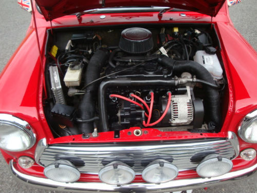 1999 mini cooper 1.3 sport engine bay