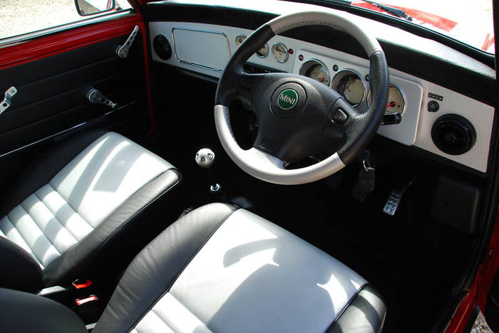 2000 mini cooper sport dashboard
