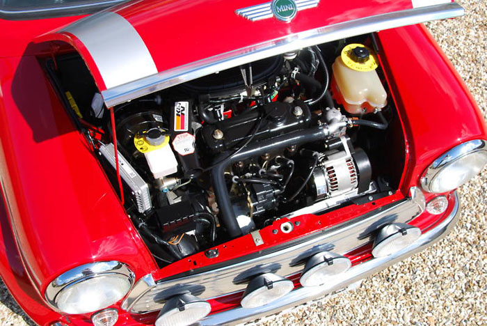 2000 mini cooper sport engine bay