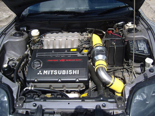 1995 mitsubishi fto gpx engine bay
