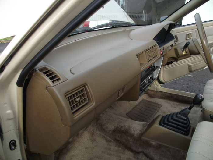 1983 Datsun Nissan Cherry 1.3 GL Interior Dashboard