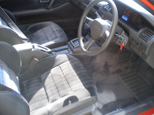 1987 nissan silvia turbo auto interior 1