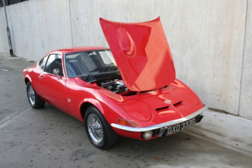 1968 opel gt coupe 1900cc 2