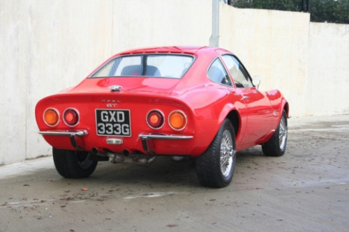 1968 opel gt coupe 1900cc 4