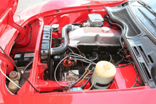 1968 opel gt coupe 1900cc engine bay 1
