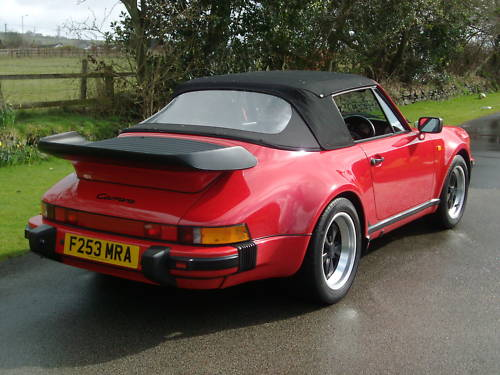 porsche 911 carrera supersport cabriolet 8