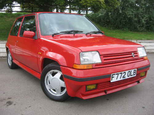 1988 renault r 5 gt turbo 3dr 1