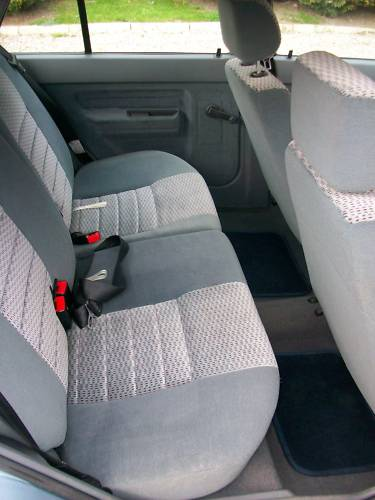1989 renault 5 automatic 1.4 litre rear seats