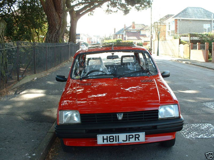 1990 rover metro 1.3 red 2