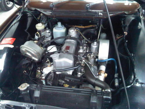 1972 rover 2000 sc p6 engine bay