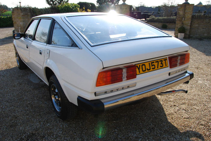 1979 series 1 rover sd1 2600 back