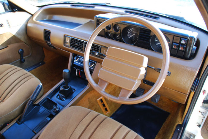 1979 series 1 rover sd1 2600 interior 2