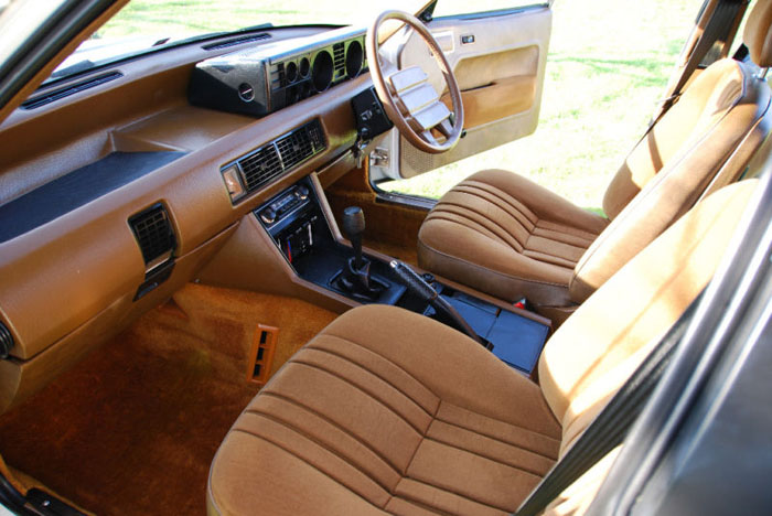 1979 series 1 rover sd1 2600 interior 3