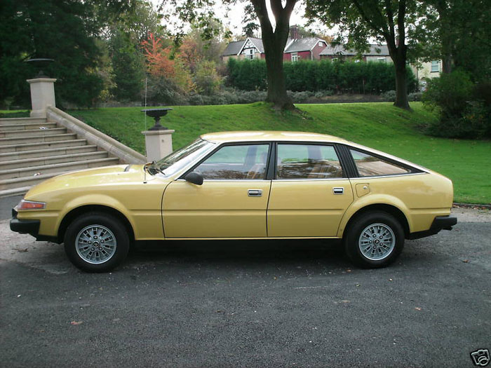 1978 rover 2600 yellow 4