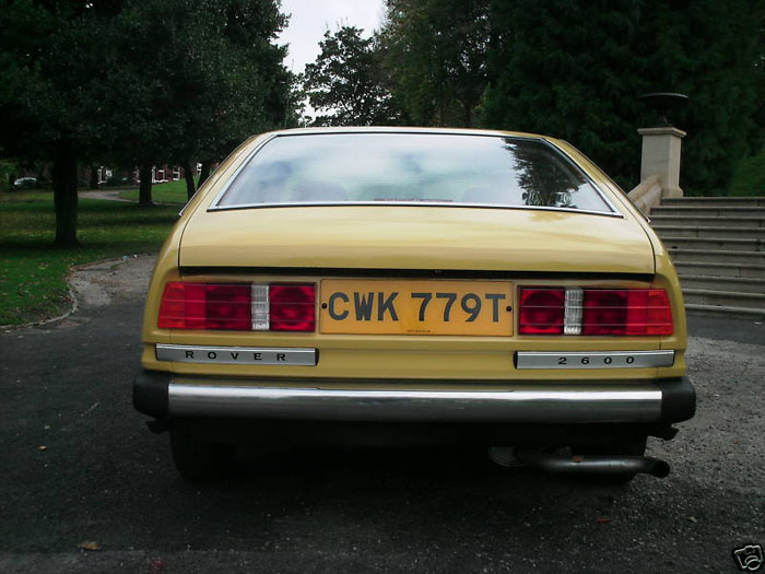 1978 rover 2600 yellow 5
