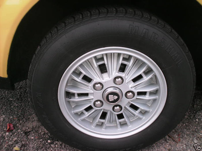 1978 rover 2600 yellow wheel