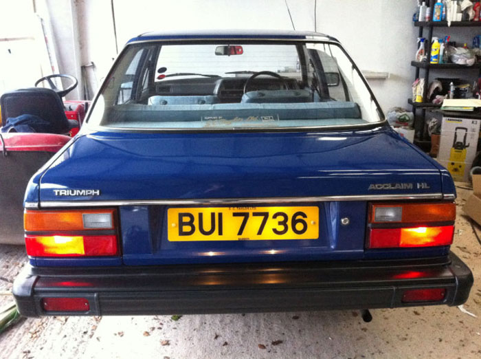 1982 triumph acclaim hl 3