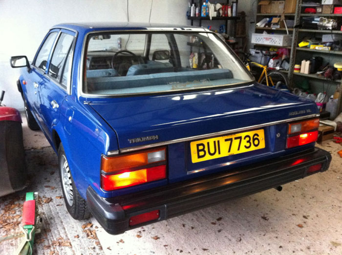 1982 triumph acclaim hl 4