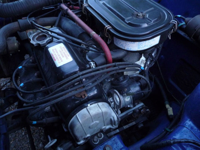 1982 triumph acclaim hl engine