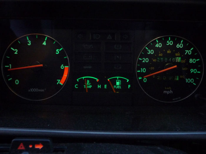 1982 triumph acclaim hl speedometer