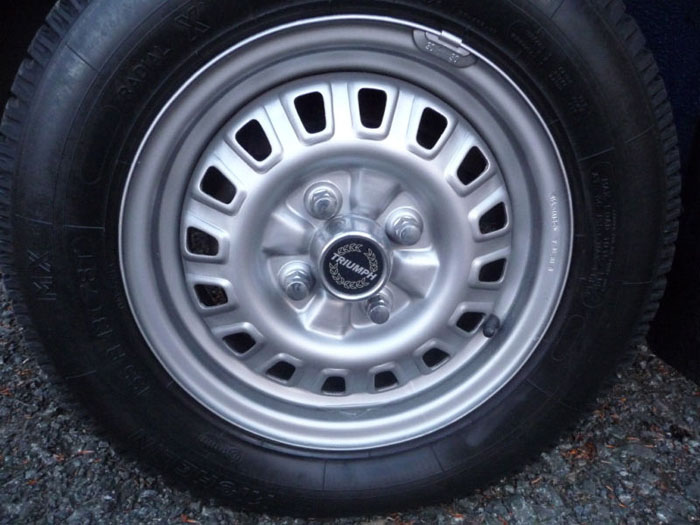 1982 triumph acclaim hl wheel