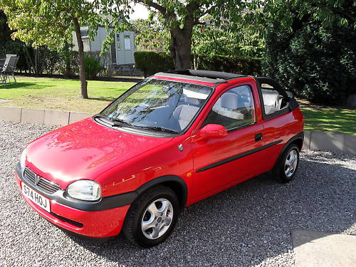 1998 1.4l vauxhall corsa convertible cabriolet 1