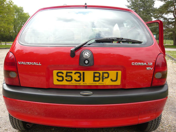 1998 s vauxhall corsa breeze 16v automatic 5